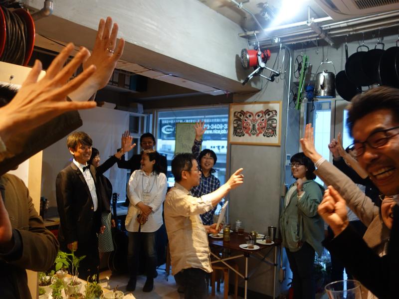 川嶋直さんが場を盛り上げます