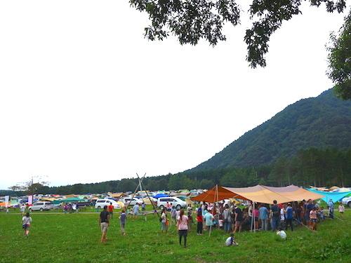 親子対象のキャンプイベント